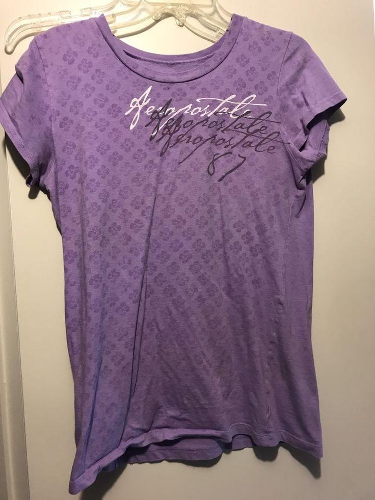Aeropostale XL Purple Shirt  | eBay