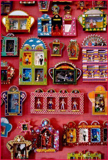 Mexican tin art: