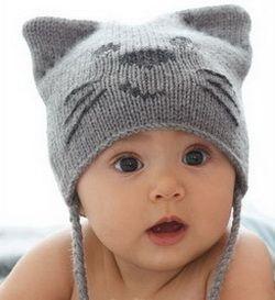 Как связать красивую детскую шапочку спицами с ушками: подробная и инструкция и схемы вязания. Вязание детских шапочек спицами на Колибри.
