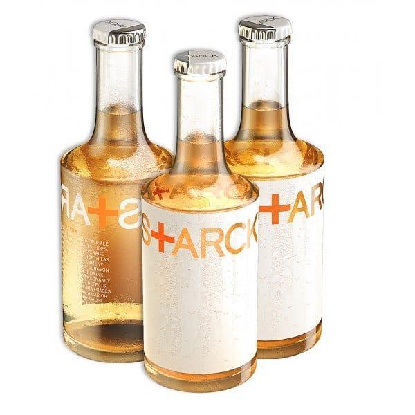 S+arck Beer  La Starck Beer, blonde, issue de l'agriculture biologique;    En savoir plus sur http://kissmychef.com/envies/nectar-drinks/sarck-beer-biere-de-philippe-starck#hfhCEwr4h80lqgIi.99