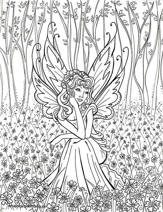Best Hard Fairies Coloring Pages For Girls 757 In 2020 Unicorn Coloring Pages Detailed Coloring Pages Fairy Coloring Book