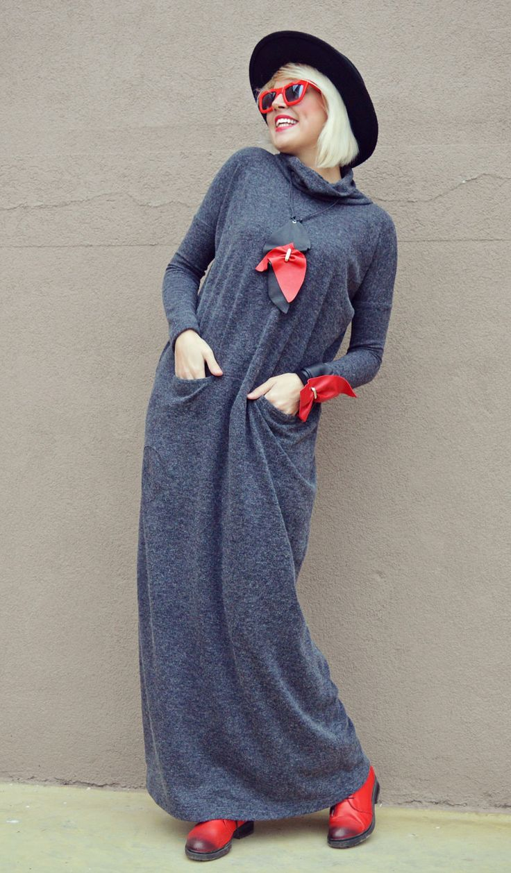 Just in: Extravagant Gray Maxi Dress / Gray Long Maxi Dress / Angora Long Dress / Angora Loose Dress TDK222 https://www.etsy.com/listing/494353649/extravagant-gray-maxi-dress-gray-long?utm_campaign=crowdfire&utm_content=crowdfire&utm_medium=social&utm_source=pinterest