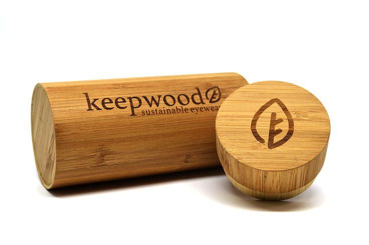 Keepwood Bamboo Sunglasses Case