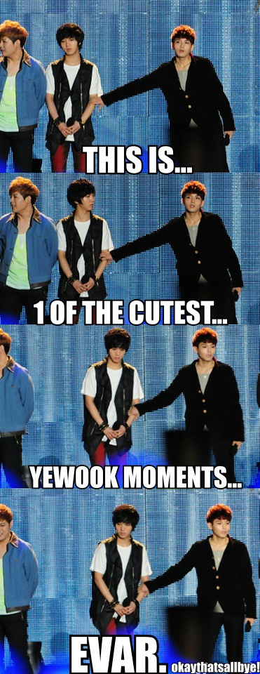YeWook ♡ #KPOP #FUNNY