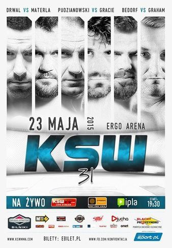 KSW 31: Materla vs. Drwal Fightcard