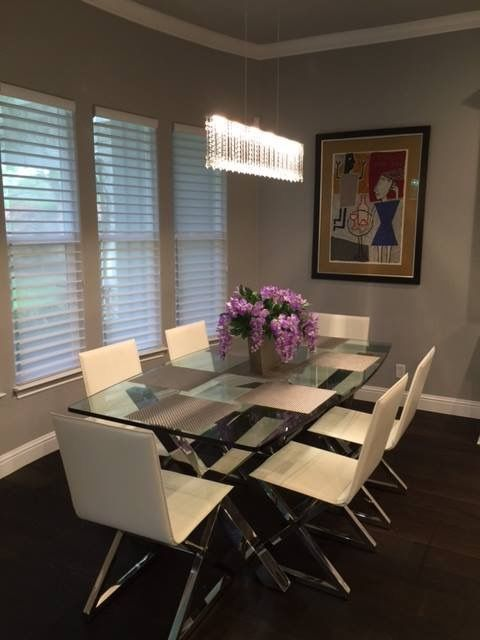 """Hunter Douglas Silhouettes and Monarch Collection Storia II Color Sovana 7"""" X 1/2"""" X 24""""-118"""" Random Lengths UV Oil Finished hardwood."""