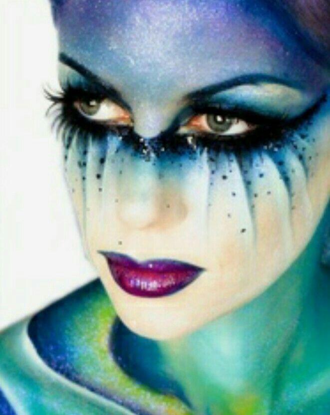 80 best Fantasy Costume Makeup images on Pinterest   Carnival ...