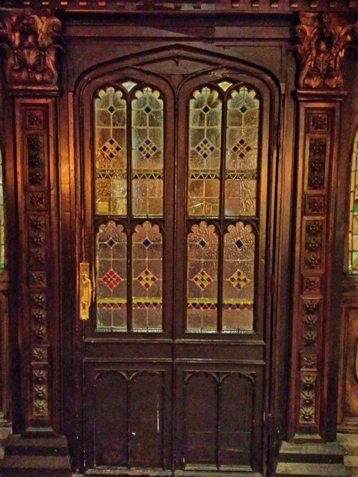 Coombe Abbey Door.