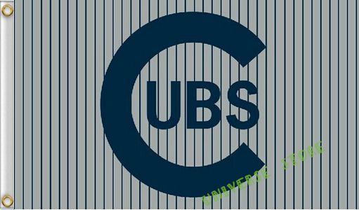 free shipping Chicago Cubs flag 3ftx5ft Banner 100D Polyester Flag  digital print