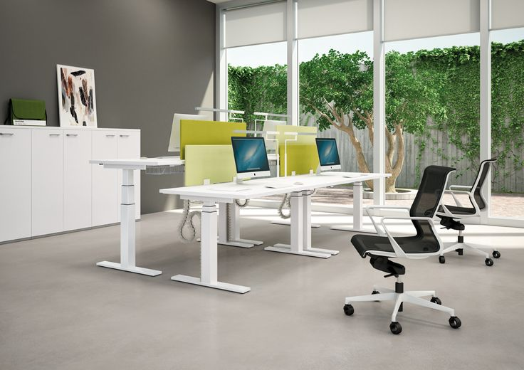 Dinamica armchair. Sit and Stand workstation by Quadrifoglio.