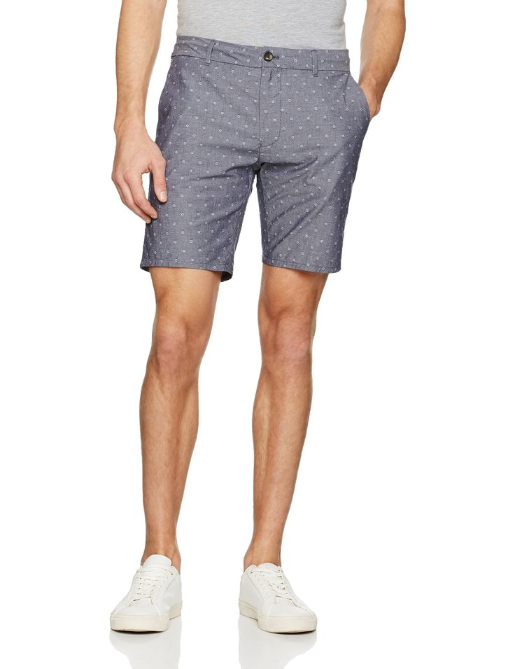 Scotch & Soda Men's Classic Short in Yarn Dyed Quality, Combo El, 36