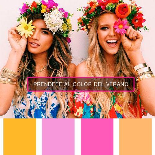 ¡Hoy comienza el #Verano, no dudes en sumar los colores que nos trae esta temporada a tus prendas!   #PrendeteAlColor