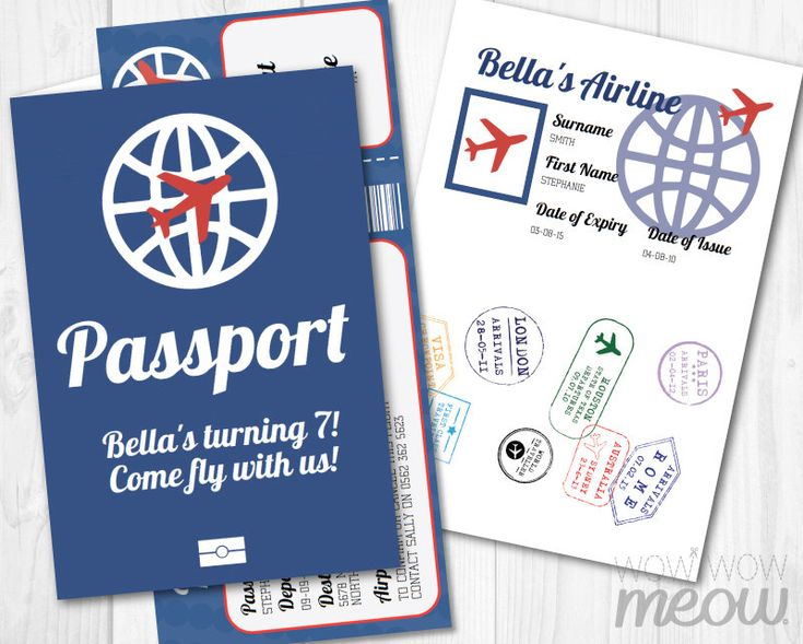 AIRPLANE Ticket Invite Passport Invitation Pilot Girls Boys Navy INSTANT DOWNLOAD Edit Personalize Plane Birthday Party Editable & Printable by wowwowmeow on Etsy https://www.etsy.com/listing/266066826/airplane-ticket-invite-passport
