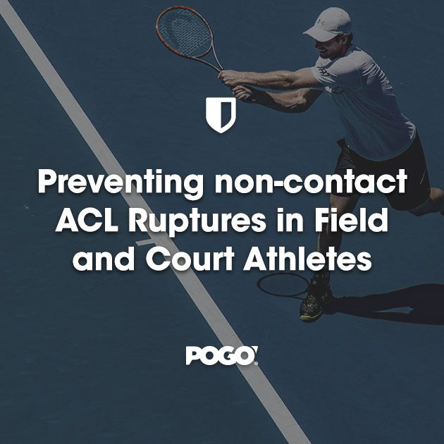 Preventing non-contact ACL Ruptures in Field and Court Athletes