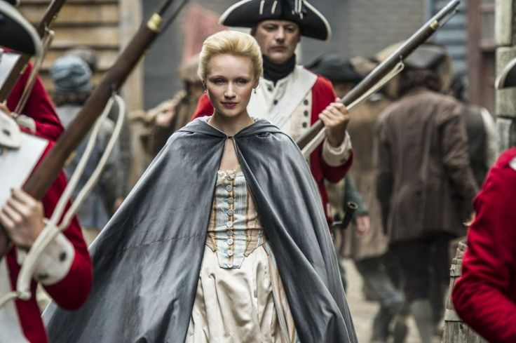 Sons of Liberty on History Channel. It's pretty macho since it's mainly a period suspense/drama series for guys but has decent costumes.