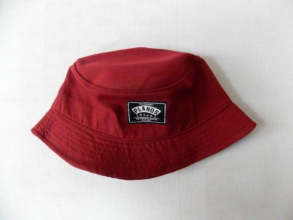 Bucket hat PSB Maroon Plands apparel - Rp105.000