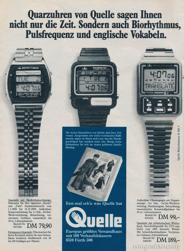 Erkennen Sie Ihre täglichen «Hochs» und «Tiefs». Aber nur bis 31.12.1999 – danach Millenium-Bug. Trost: Der Funktionisbereich start...