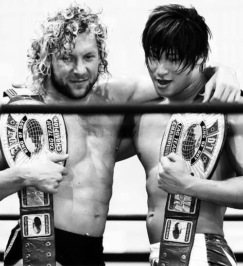 Kenny Omega and Kota Ibushi