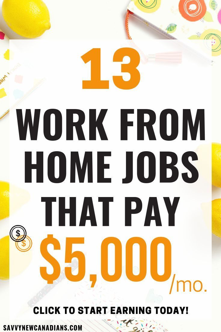 13 Legitimate Ways To Make Real Money Working From Home – jobs for on-the-road