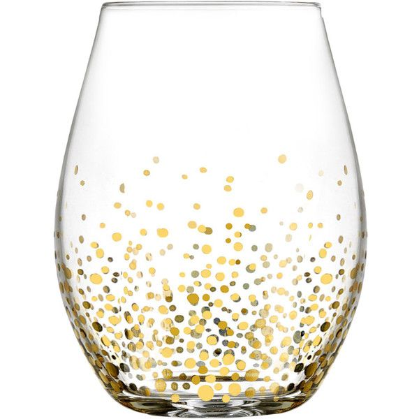 Gold Luster 20 oz. Stemless Wine Glass Reviews (47 CAD) ❤ liked on Polyvore featuring home, kitchen & dining, drinkware, kitchen, gold wine glass, gold wine glasses, stemless wine glass, stemless wine glasses and stemless wineglasses