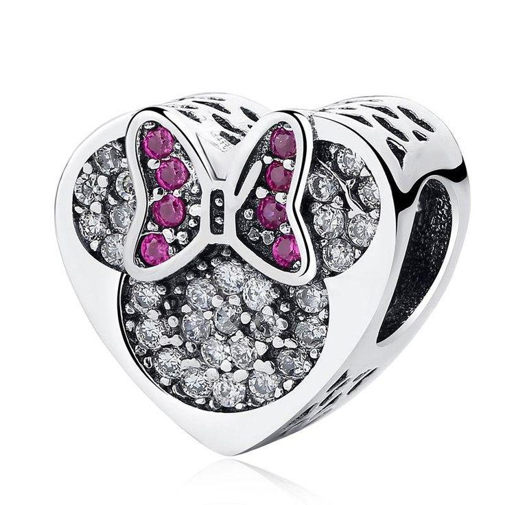 Flocon de neige Charme Européen Perles Pendentif Fit Sterling 925 Bracelet En Argent Collier