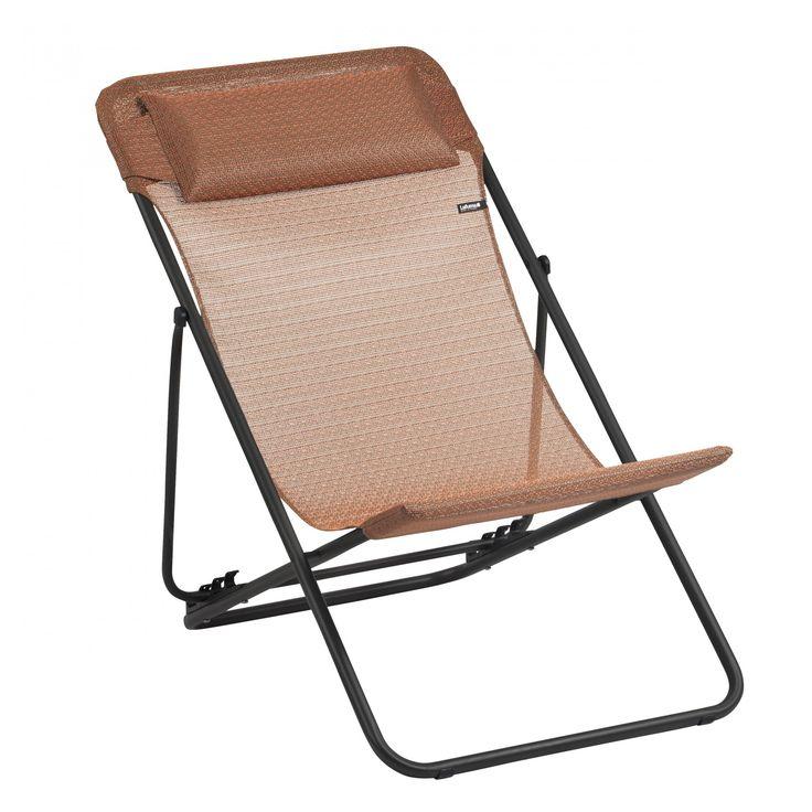 Les 25 meilleures id es concernant chaise lafuma sur for Chaise longue de jardin lafuma