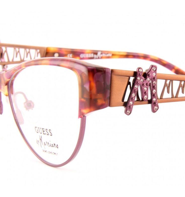 Dámské brýle Guess by Marciano GM 135 PRDM #bryle #guess #eyeglasses #damske #moda #moderni #trendy #praha #optika #eurooptik