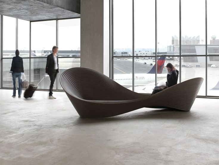 Ron Aradu0027s U0027folly Benchu0027 For Magis Is A Rotational Moulded Seating Piece  Whose Form Is A Three Dimensional Take On The Mobius Strip.