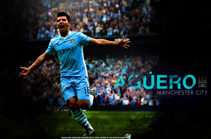 New Sergio Aguero Manchester City Wallpaper HD Collection sports - www.wallpapersocc... 3