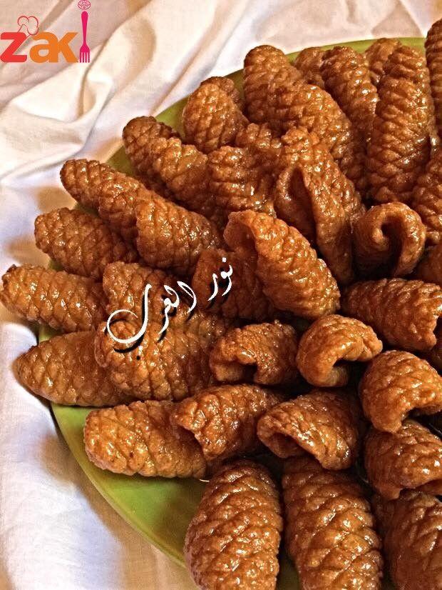 أصابع زينب بطريقة ناجحة مليون بالمية اللي بدها الطريقة تكتب تم زاكي Arabic Sweets Arabic Dessert Lebanese Desserts