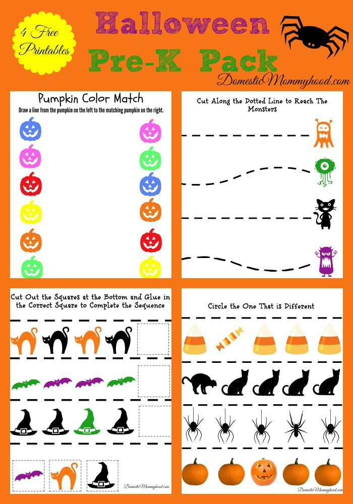 Ok guys!!! This is a first for me but I just started working on some free printables for the first time EVER!! I decided to do a Pre-k Halloween pack for you guys!! It's the first one I have ever done...