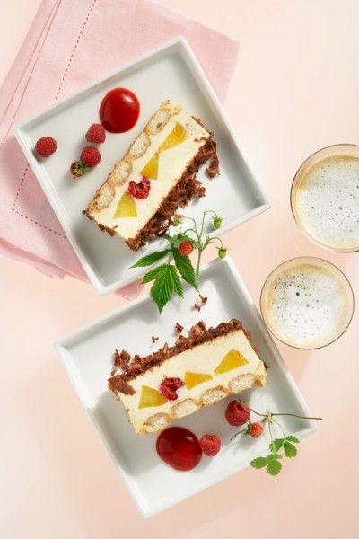 Pfirsich Tiramisu | Recipe | Pinterest | Tiramisu, Dessert trifles and Crazy cakes