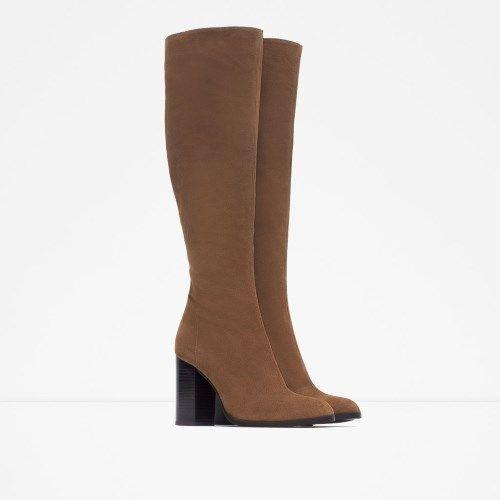 Zara čizme za jesen/zima 2015 – 2016 - Ženstvena