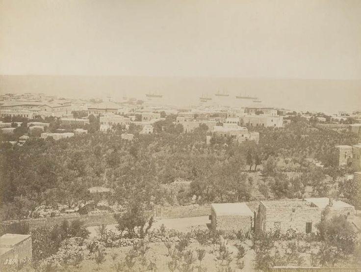 Beirut, Lebanon, 1886 (Osmanlı Dönemi Beyrut, Lübnan)