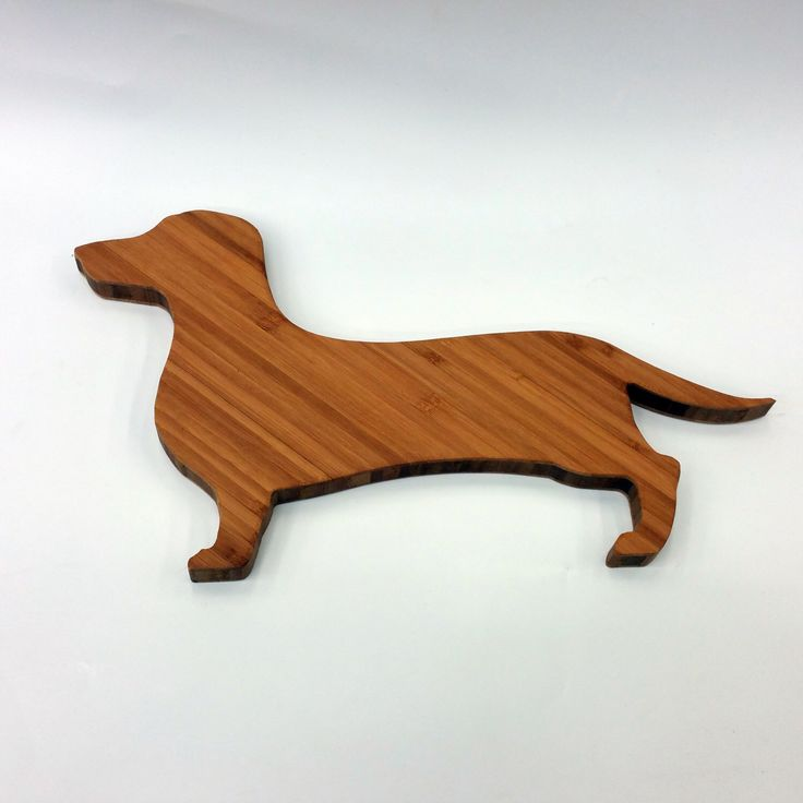 Dachshund Bamboo Board: The Lincoln - Great gift for a dog lover perfect for entertaining  by BackstageGoods on Etsy https://www.etsy.com/listing/230064211/dachshund-bamboo-board-the-lincoln-great