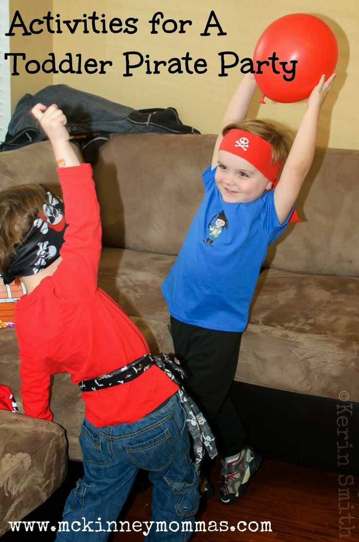 Great ideas for a Pirate Party for Toddlers #DisneySide @Disney Junior #GotItFree