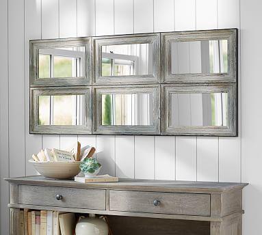 Aiden Large Wall Mirror #potterybarn