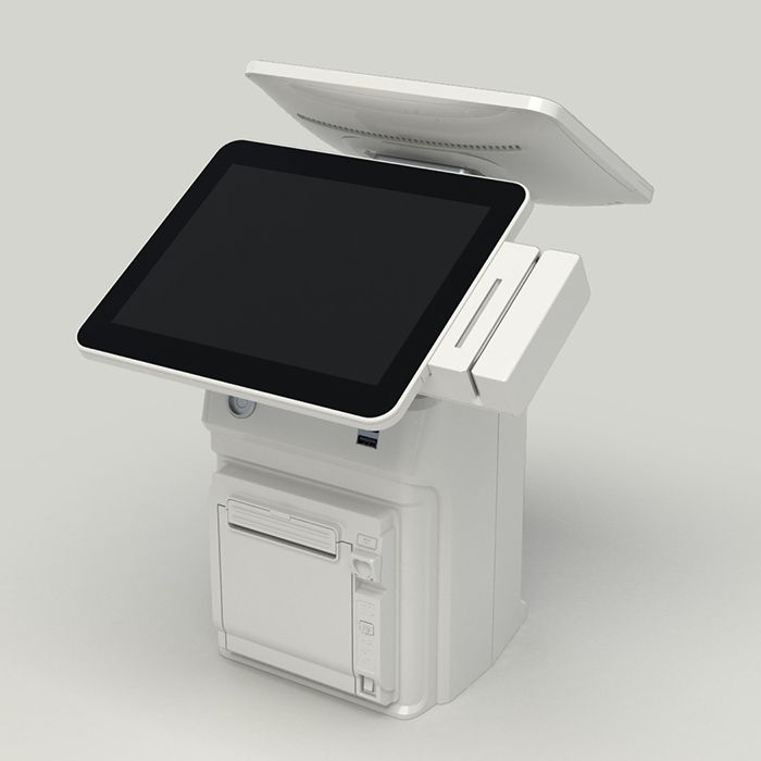 china All in one POS System with Printer POS Customer Display LCD supplier