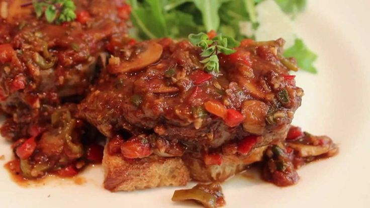 Steak Pizzaiola Recipe - How to Make Steak Pizzaiola - Summer Tomato Ste...