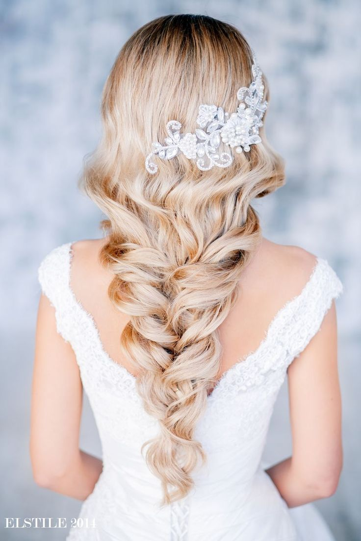 fonott menyasszonyi frizura / bridal hair braids