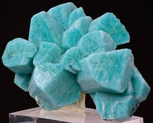 Minerals, Crystals & Fossils - Amazonite - Lucky Monday Pocket, Smoky Hawk Claim,...