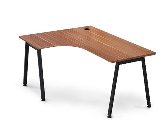 Scandinavian designs the avoz collection features a modern mix of modular desks file cabinets - L shaped desk small space collection ...