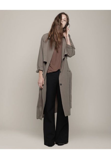 La Garconne cotton trench #minimalist #fashion #style