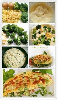 Zobacz zdjęcie Puszysty omlet z brokułami (przepis po kliknięciu w zdjęcie)
