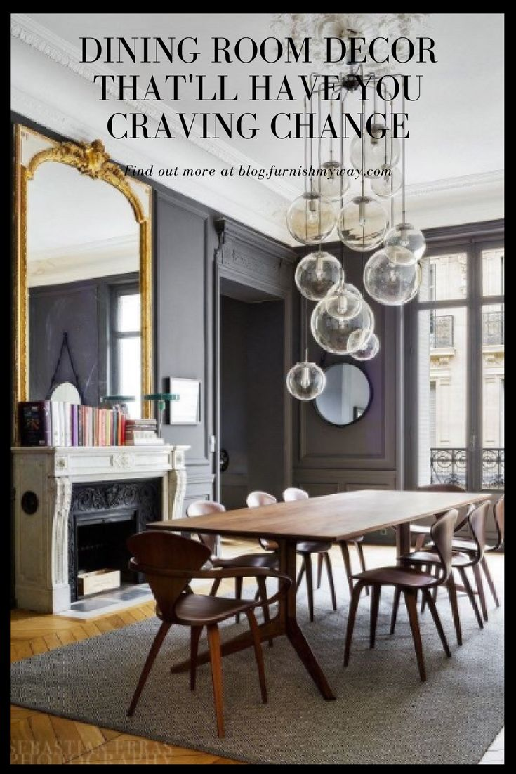 The dining room. That one space most houses have, and yet it's normally not the most decorated. We're going to change that with these fab dining room decor ideas!