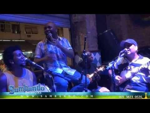 Grupo 100% - Roda de Samba no Espaço São Jorge - RJ  ao vivo .