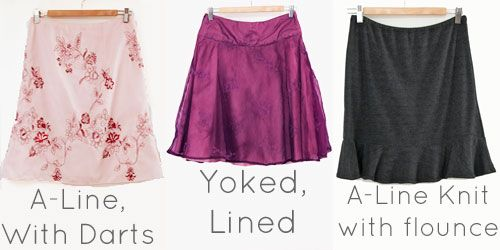 Draft your own skirt pattern #sewing