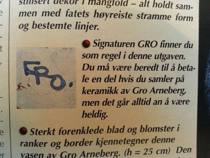 Gro Arneberg -Norge