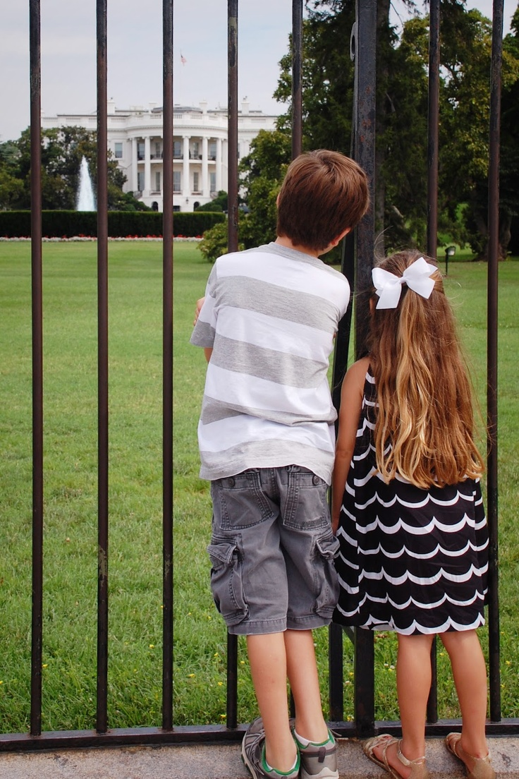 helpful blog entry about visiting Washington D.C. on vacation with young kids