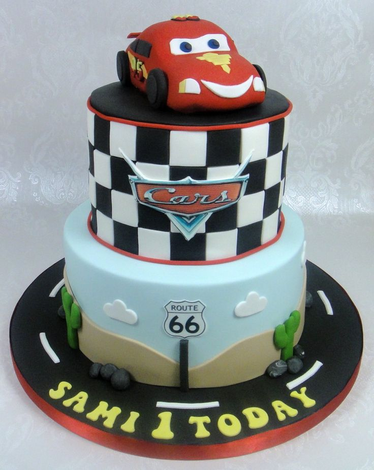 19 best Disney Cars cake images on Pinterest Conch fritters